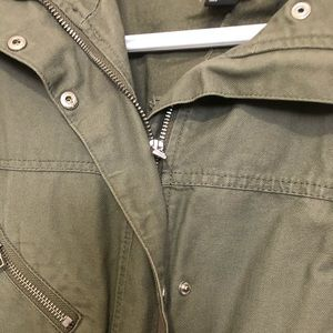H&M Jackets & Coats - H & M military green jacket